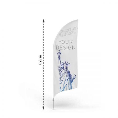 Personalisierte Beachflag drucken - Printing4Europe