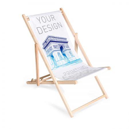Liegestuhl individuell bedruckt - Printing4Europe