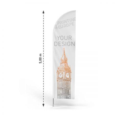 Beachflag online bestellen - Printing4Europe