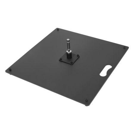 Standplatte aus Stahl für Beachflag 50x50cm 15 kg - Printing4Europe