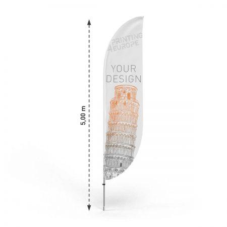 Beachflag drucken lassen mit Wunschmotiv - Printing4Europe