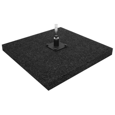 Gummistandplatte für Beachflag 50x50cm 10 kg