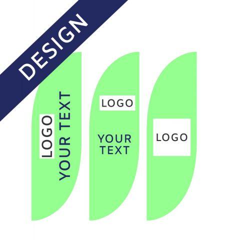 Projet Graphique pour Drapeau Publicitaire Classic Bend