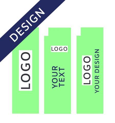 Graphic Design for Feather Flag Aluminum Quadratic