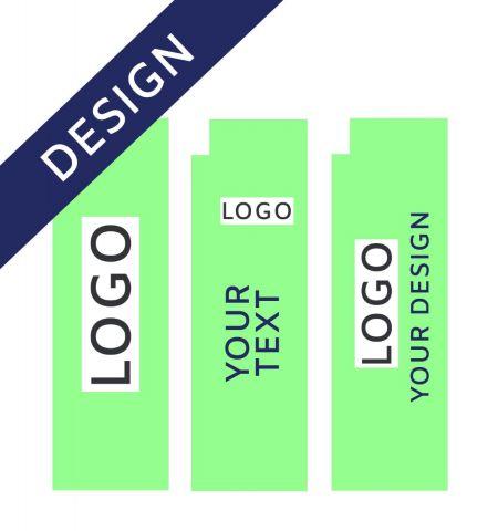 Projet Graphique pour Drapeau Publicitaire Aluminium Quadratic