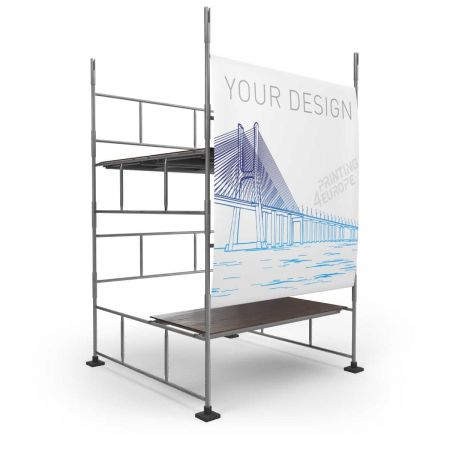 Gerüstbanner Frontlit PVC - Printing4Europe