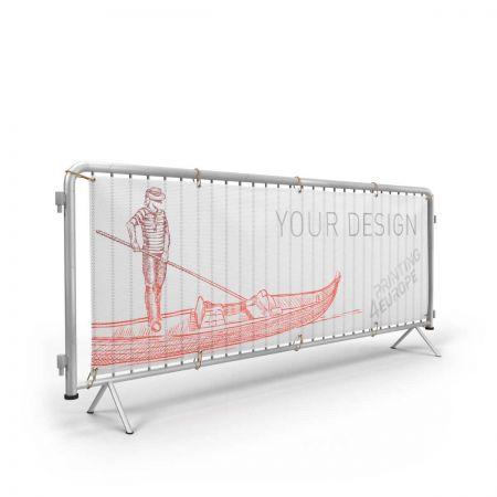 Banner für Absperrgitter - Mesh - Printing4Europe