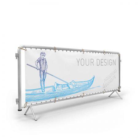 Banner PVC für Absperrgitter - Printing4Europe