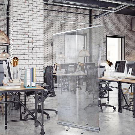 Roll-Up Transparent 85x200 cm