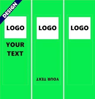 Projet graphique pour transat publicitaire
