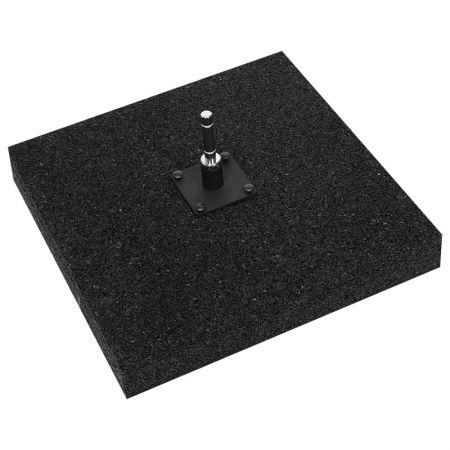 Gummistandplatte für Beachflag 50x50cm 15 kg - Printing4Europe