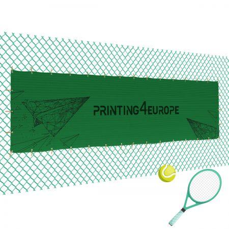 Tennisblende mit Aufdruck 200cm x 1200cm - Printing4Europe