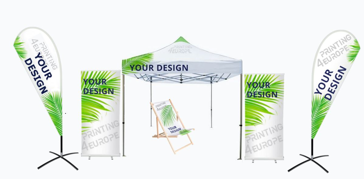 Faltpavillon bedrucken und online bestellen