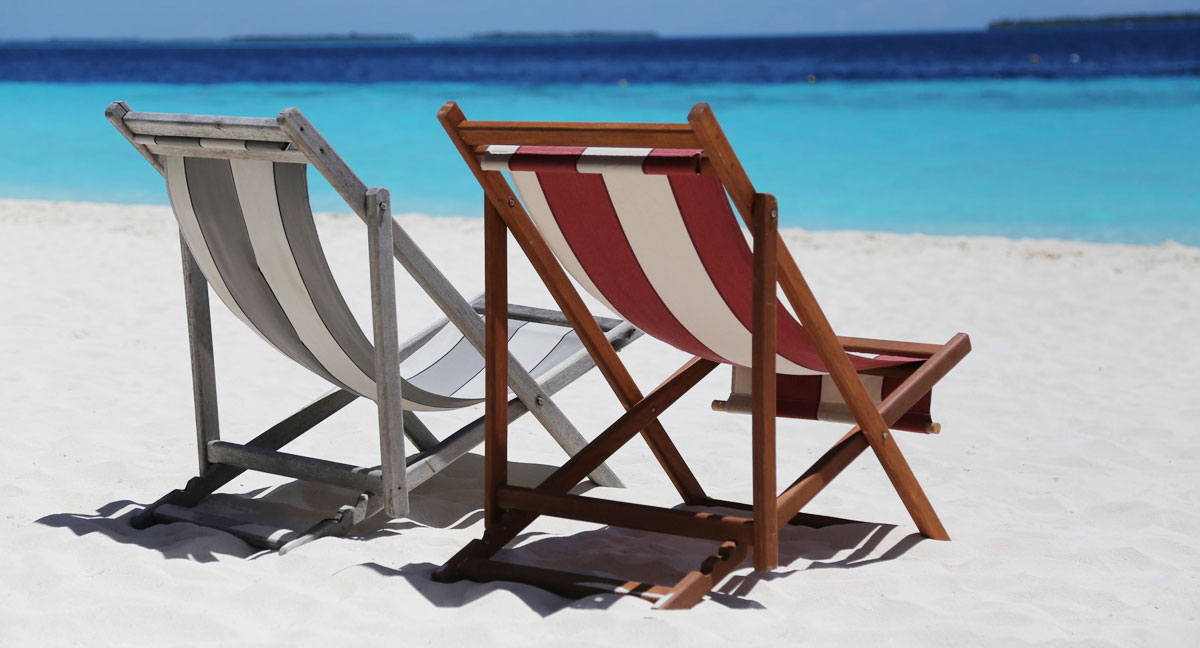 Advertising deck chairs - a functional advertisement for your company!